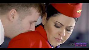 Hete stewardessen bieden een unieke VIP service