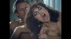 Vintage porno met een sletterige secretaresse